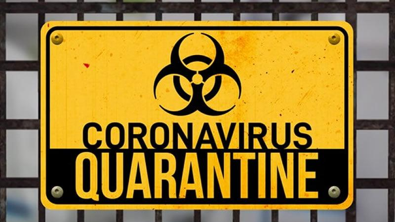 Corona Virus Sign