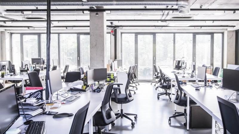 WFH - Empty Office
