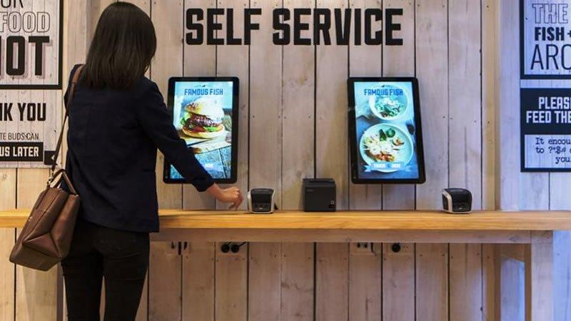 Customer self service kiosks