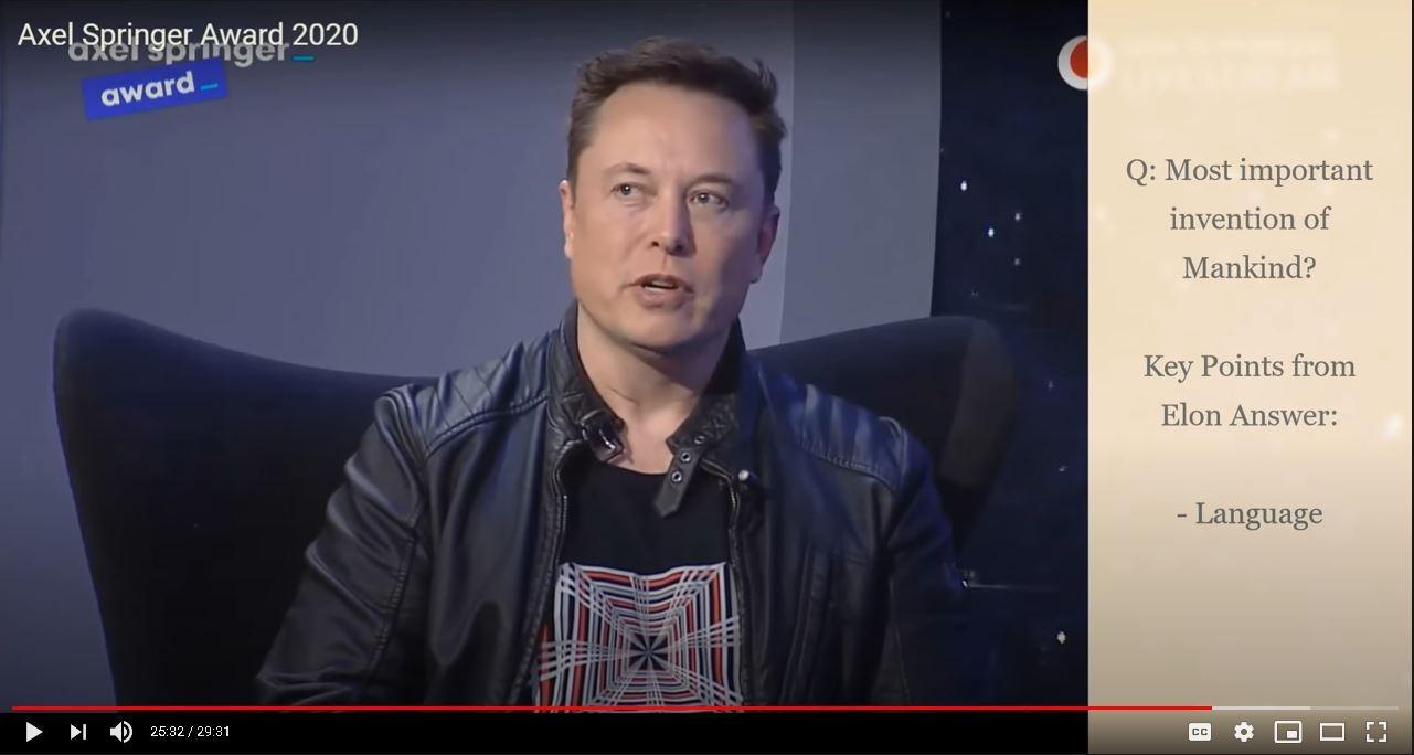 Elon Musk in Conversation 2020